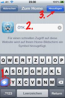 Web-Clip für das iPhone erzeugen