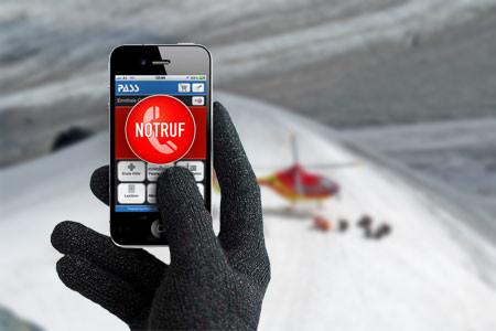Notfall App für iPhone und Android, ÖTK Alpinverein