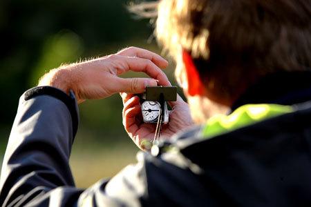 Orientierung mit Karte ud Kompass