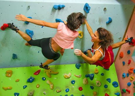 Schnupperklettern für Gruppen, ÖTK-Kletterhalle