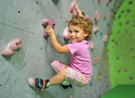 Kletterkurs für Kleinkinder, Kletterhalle Wien 1