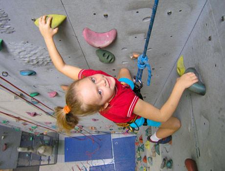 Kinder-Kletterkurse beim ÖTK