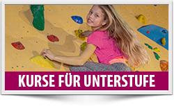 Kletterkurse für Kinder ab 11 Jahre