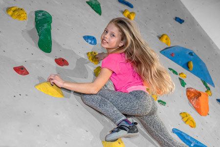 ÖTK Kletterhalle Wien 1, Kletterkurs, Kinder klettern