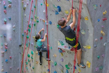 Indoor-Kletterkurse beim ÖTK, ÖTK Kletterhalle Wien 1, Kletterkurs, Sportklettern