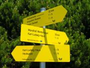 ÖTK Wege, Kletterouten, Steige