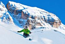 Freeriden Snowboarden