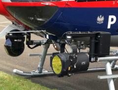 Polizei Hubschrauber Infrarotkamera