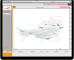 Austrian Map online