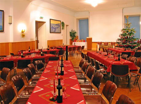 Bankett, Festsaal, Seminarraum, Bühne, Podium