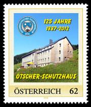Briefmarke Ötscher-Schutzhaus