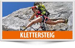Klettersteig, Kurse und touren