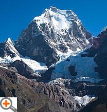 Yerupaja Grande, Cordillera Huayhuash, Peru