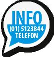Info Telefon 01 5123844