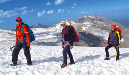ÖTK Gletscher Kurs am Dachstein