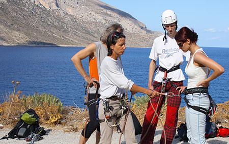 Klettertraining Kalymnos