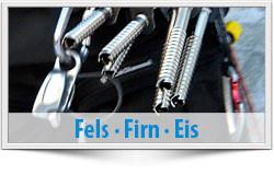 Gletscherkurs, Fels, Firn, Eis