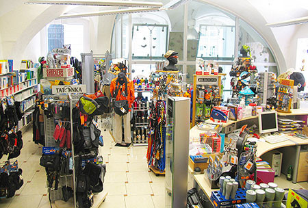 ÖTK-Alpinshop Bäckerstraße 16 1010 Wien