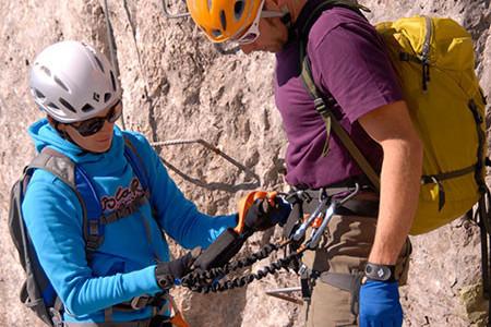 Klettersteig Rucksack : Klettersteig kurse für anfänger und fortgeschrittene Ötk alpinsport