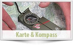 Umgang mit Karte und Kompass