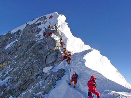 Mount Everest, Reinhold Messner, Edmund Hillar, Tenzing Norgay