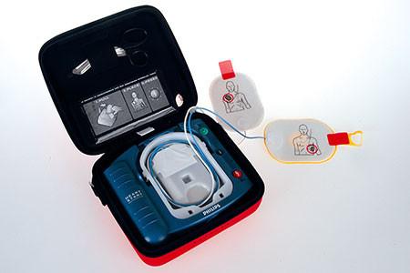 Defibrillator für Zuhause und Reisen