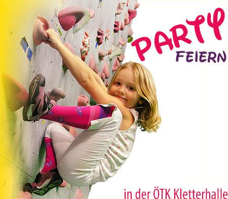 ÖTK Kletterhalle Wien 1, Klettern, Geburtstag feiern