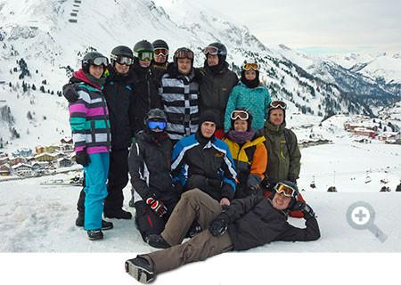 ÖTK Snowboardkurs Obertauern 2014