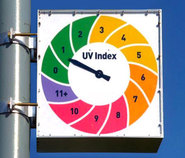 UV-Index - Ultraviolette Strahlung