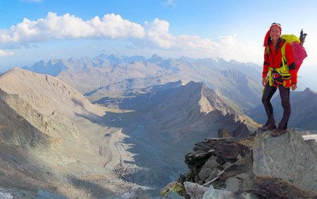 Großglockner, Gipfel, Blick
