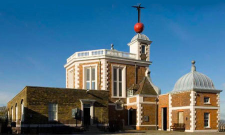 Royal Observatory im Greenwich Park, Nullmeridian