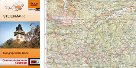 Österreichische Karte 1:200 000 Bundesland, ÖK200