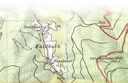 karte mit höhenlinien Topografische Karten | ÖTK · Österreichischer Touristenklub