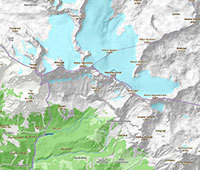 Kartenkunde, GPS, Satellit, Luftbild, Orthographie