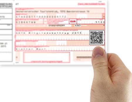 Beim ÖTK bezahlen mit dem QR-Code und dem Smartphone