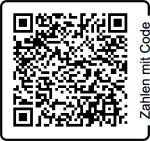 Zahlen mit QR-Code, Spende für den ÖTK