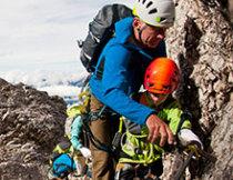Ehrenamtlich tätig als Kletterlehrer, Tourenführer, Instruktor, Übungsleiter
