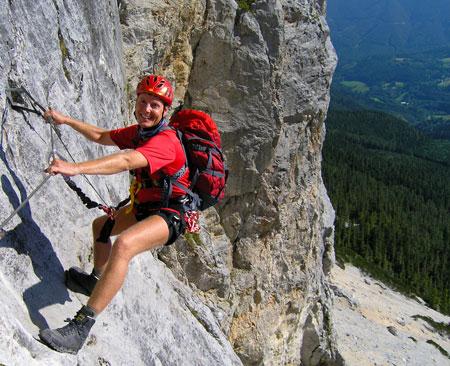Klettergurt Für Anfänger : Klettersteig kurse für anfänger und fortgeschrittene Ötk alpinsport