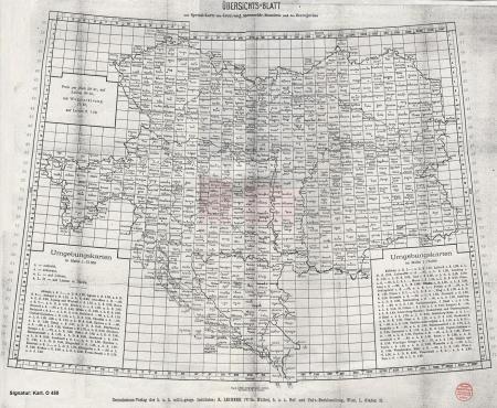 Österreich-Ungarn, Monarchie, Karte