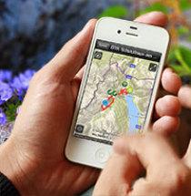 Outdoor Touren planen, Topokarte, 1:25000, Offlinekarten, Navigation und Wetter