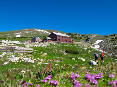 ÖTK Hütte Schutzhütte Schutzhaus Berghütte Biwakschachtel