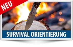 Survival-Orientierung, Survival-Trianing, Verhalten in Notfälle, alpines Notsignal, Feuer machen, ÖTK