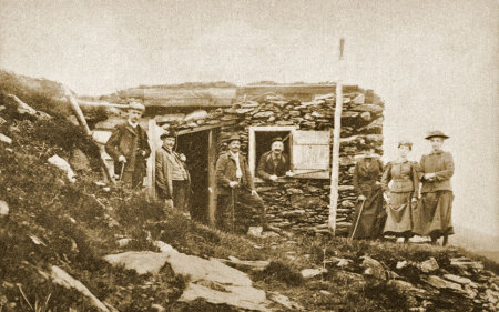 Schutzhütte, Schutzhaus, Alpen, Gustav Jäger, Nansenhütte, Stuhleck