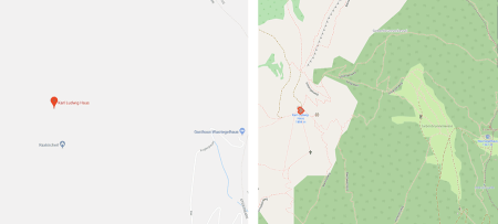 OpenStreetMap OSM, digitale Karte, Wandern, ÖTK, Österreich