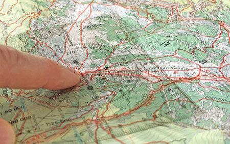Workshop, Kurs, Karte und Kmpass, Peilen, Orientieren, Navigieren, ÖTK
