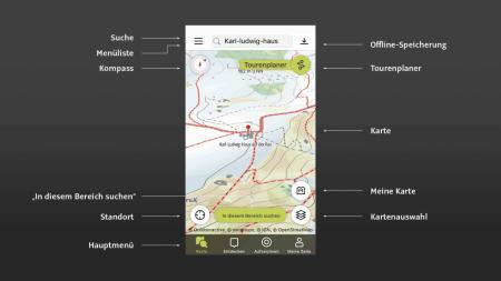 outdooractive, app, tourenplanung, online, offline, ötk