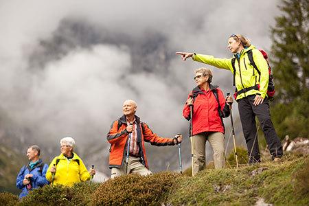 Übungsleiter Bergwandern ÖTK Ausbildung