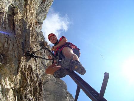 Übungsleiter Klettersteig, Ausbildung, Kursleiter, ÖTK, Instruktor Alpin