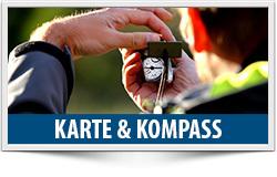 Karte und Kompass, Orientieren, Navigieren, Position, Peilen, Topokarte, ÖTK