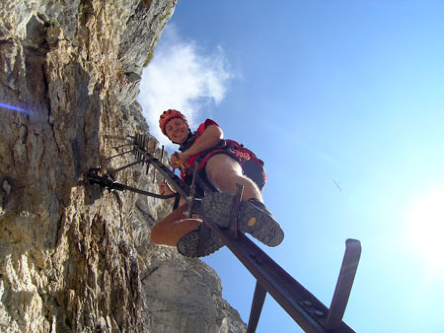 Klettersteigset Verleih Salzburg : Klettersteig kurse für anfänger und fortgeschrittene Ötk alpinsport
